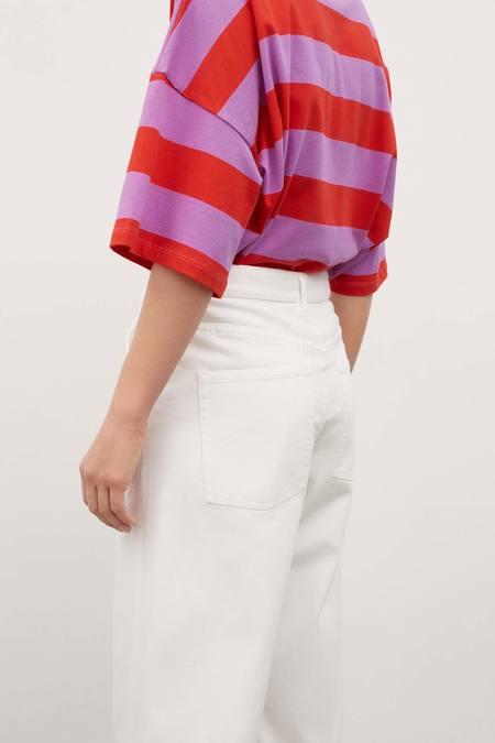 Kowtow Barrel Jeans - ecru-denim