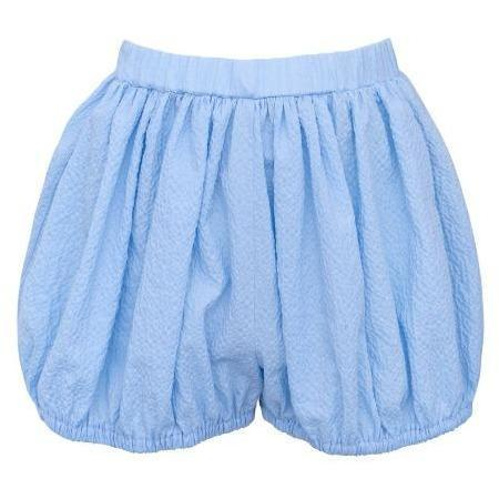 kids paade mode cotton shorts - bora blue