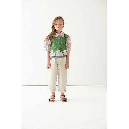 kids paade mode cotton vest - Green/ducks