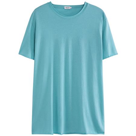 Filippa K roll neck tee - Turquoise