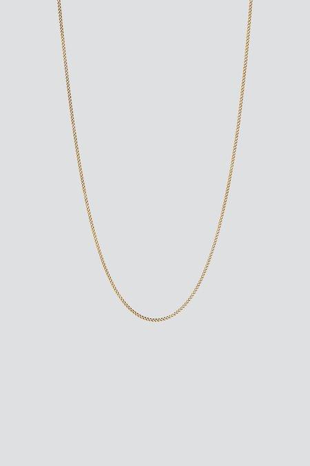 Miansai Cuban Chain Necklace - Gold Vermeil