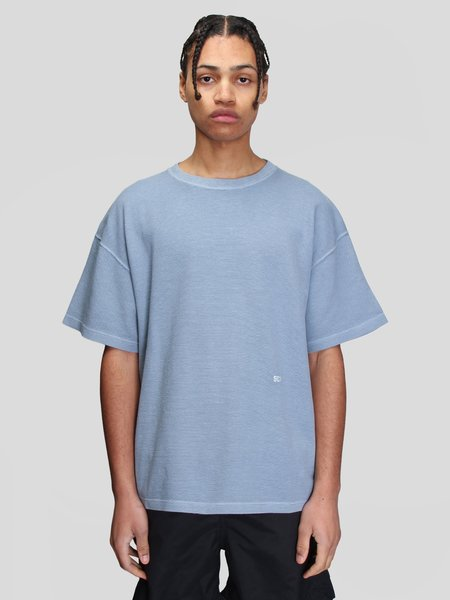 Schnayderman's Pique GD T-Shirt - Dusty Blue