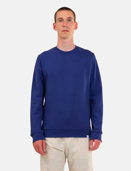 Norse Projects Vagn Classic Sweatshirt - Ultra Marine