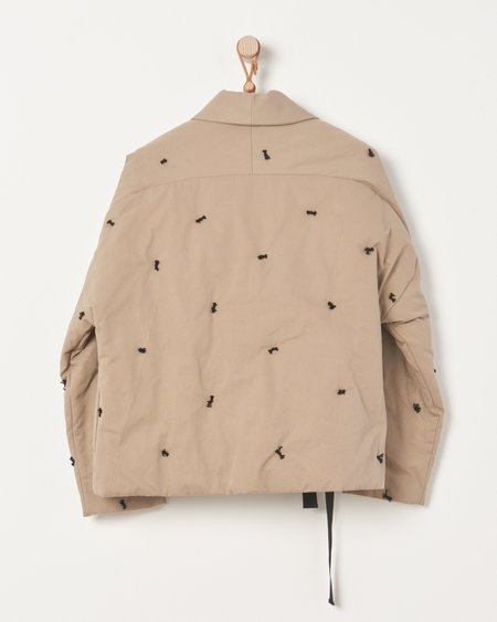 Caron Callahan Estella Coat - Khaki Canvas