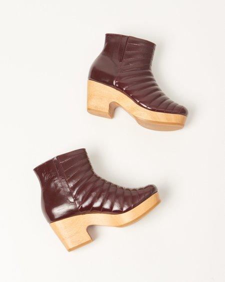 Beklina Ribbed Clog Boot - Morita