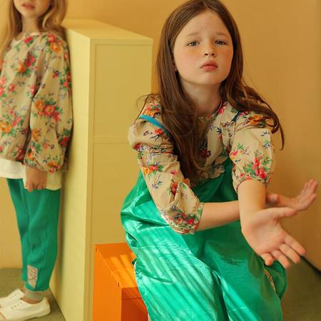 Kids Tambere Freja Floral Blouse