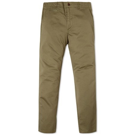 Wings+Horns Westpoint Twill Chino Pant - Mil Green
