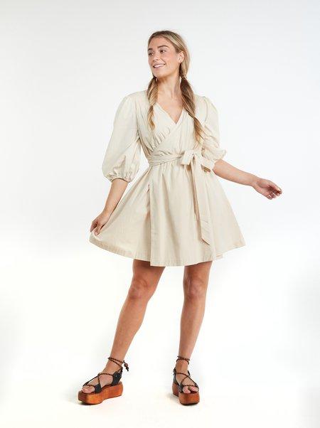 THE ODELLS Shiloh Dress - COCONUT MILK