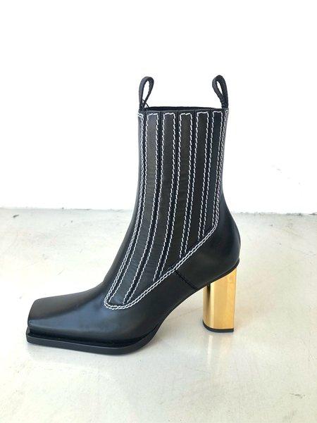 Proenza Schouler Mirrored Heel Boots - Black