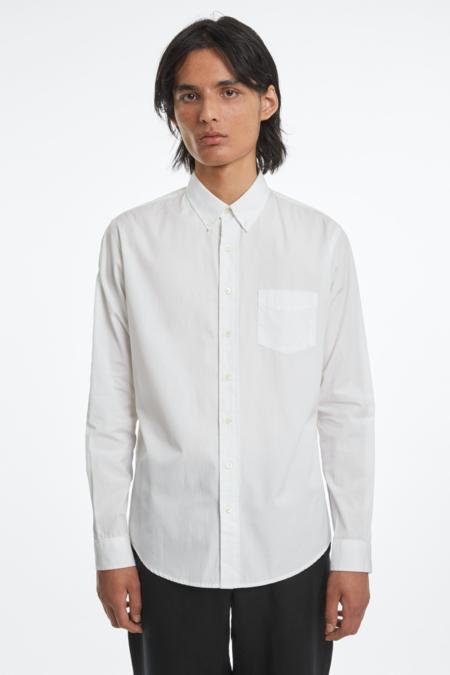 Schnayderman's Poplin One Shirt - White