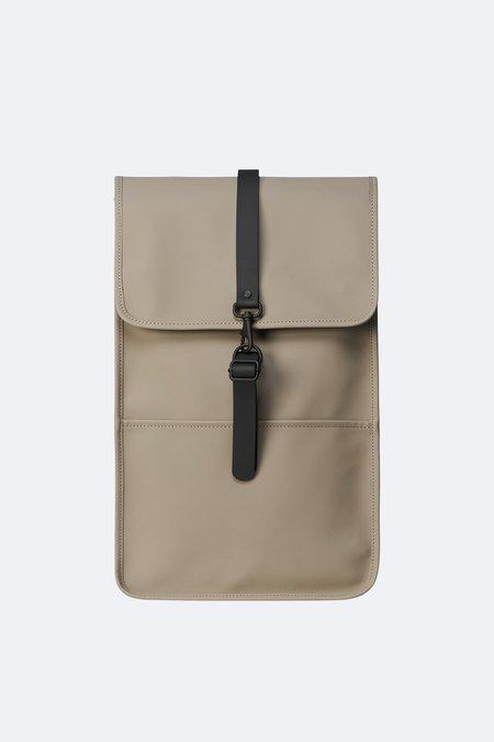 Unisex Rains Backpack Mini - Taupe