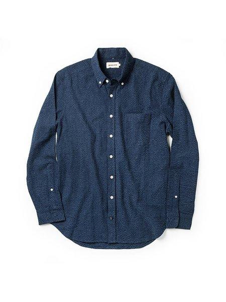 Taylor Stitch The Jack Shirt - Indigo Seersucker
