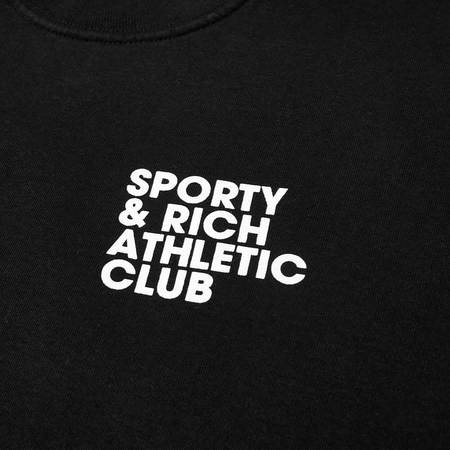 Sporty & Rich Exercise Often Crewneck - Black