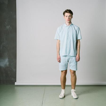 Kestin Eyemouth Vacation Shirt - Mint Seersucker