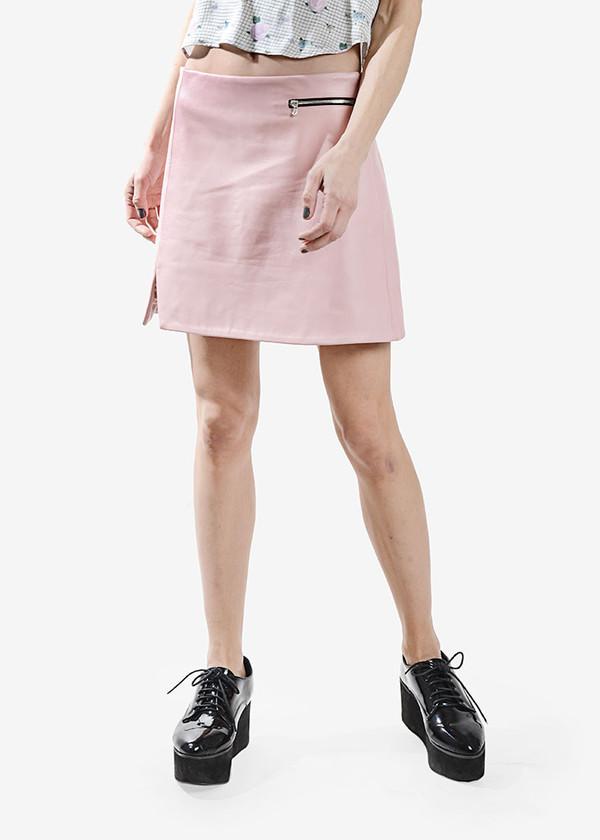 Dolores Haze Anita Leather Skirt