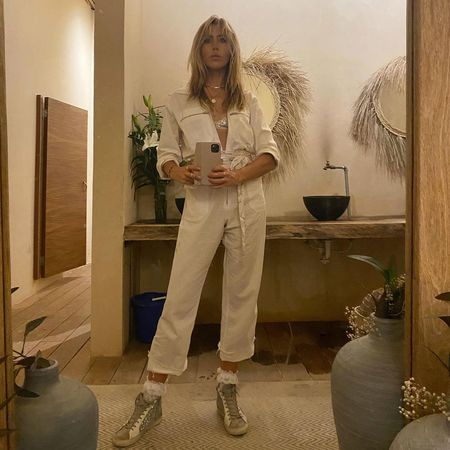 Jen's Pirate Booty Amazon Palmetto Station Suit - Coconut Linen