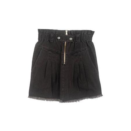 Sea NY Phillipa Denim Skirt - Black