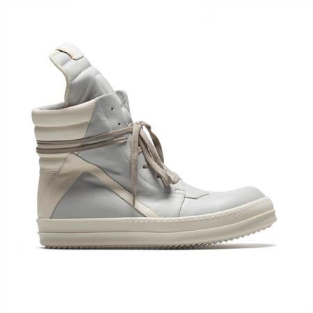 RICK OWENS Geobasket sneakers - oyster