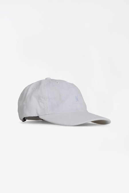 Norse Projects Twill sports cap - white