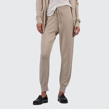 ATM Cashmere Silk Pull On Pant - CANVAS