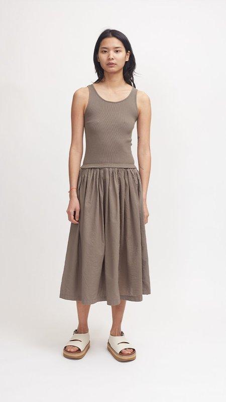 Pas de Calais Tank Top Skirt Dress - Khaki