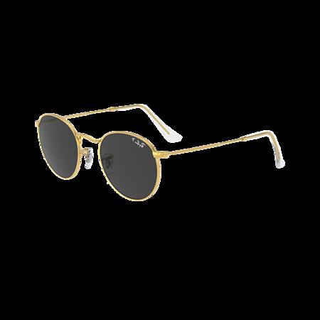 Ray-Ban Round 0RB3447-919648 eyewear - Gold/Black