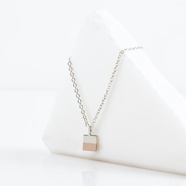 TARA 4779 Percentages Necklace No.1 - 50-50