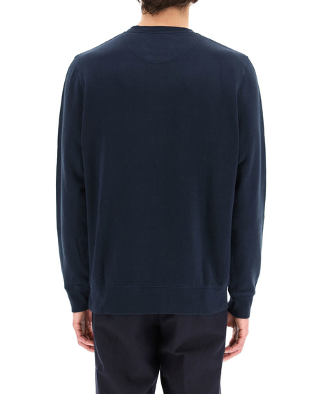 Barbour Logo Sweatshirt - blue