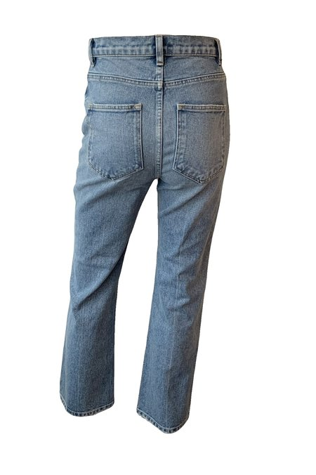 A.L.C. Cropped Ethan Jeans - Light Indigo