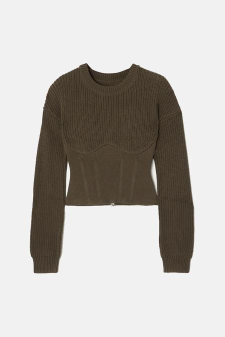 RtA Fitz Sweater - Tanker