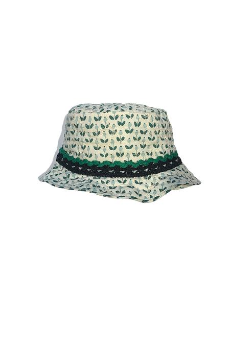 Anna Sui Blooming Buds Bucket Hat - Jade Multi