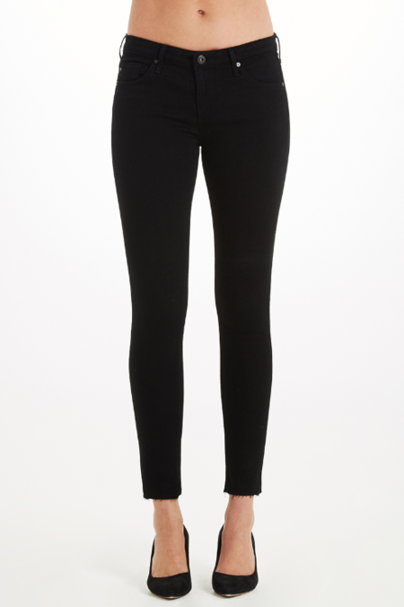 AG Jeans Farrah Skinny Ankle denim - Ink Black