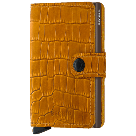 SECRID Mini Wallet - Cleo Ochre