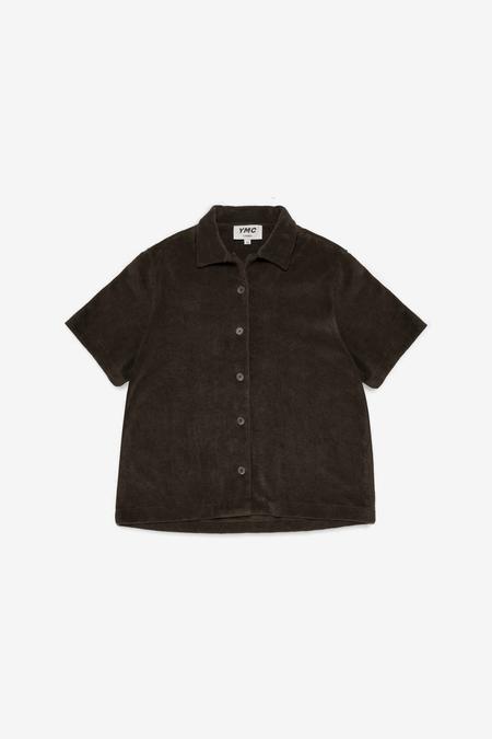 You Must Create Vegas Short Sleeve Shirt - Dark Olive