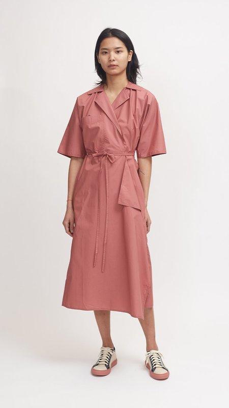 Sofie D'Hoore Dina Cotton Dress - Terracotta