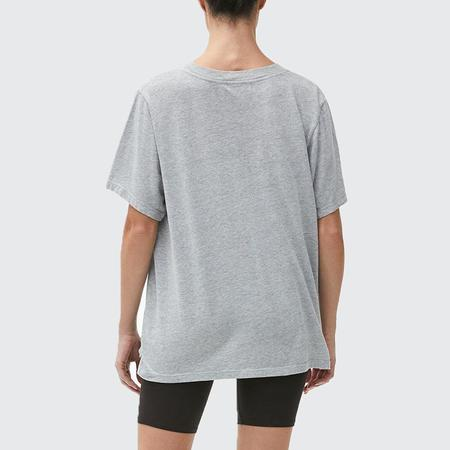 Michael Stars Cyrus Oversized V-Neck Top - HGRY