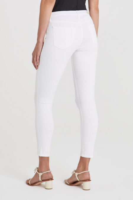 AG Jeans Prima Crop Jeans - White