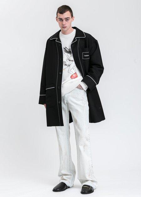 we11done Pyjama Coat - Black