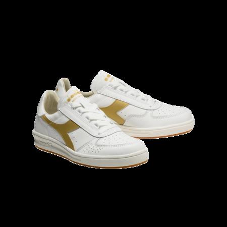 Unisex Diadora B.Elite H Italia Sport 201.176277.C1070 sneakers - White/Gold