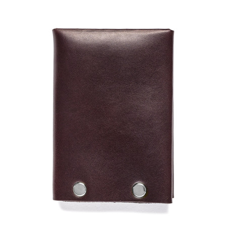 American Bench Craft Steel Riveted Leather Wallet