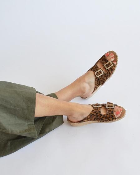 Vamp Shoes La Plume shoes - Jen Leopard
