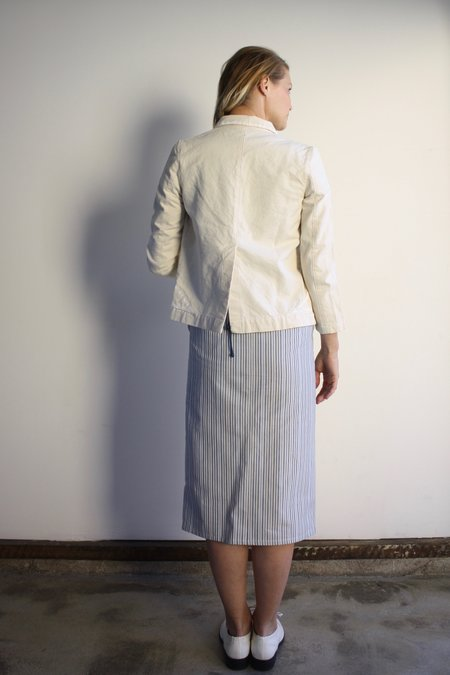 Carleen Triangle Pocket Jacket - Primed Canvas