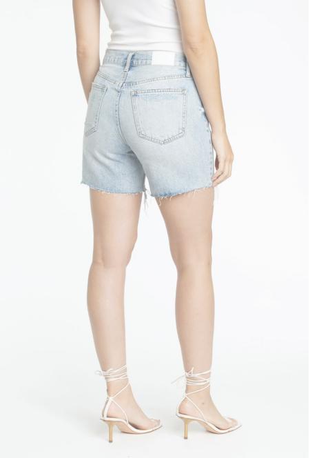 PISTOLA Devin High Rise Mom Cut Off Shorts - St.Tropez