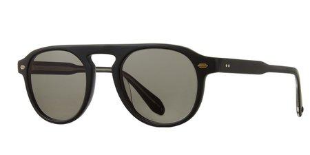 Garrett Leight Harding 47 Sunglasses - Black