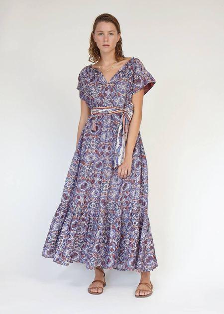 Chufy Sai Tunic Dress - Purple/Multi