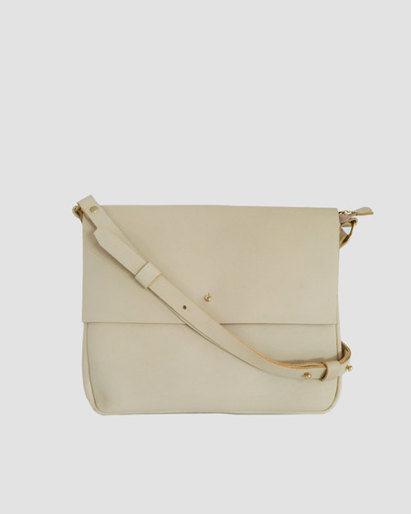 esby Crossbody Bag in Bone