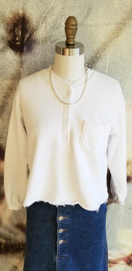 LnA Hill Sweatshirt - White