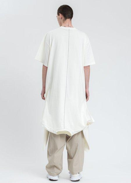 Komakino Reversible Double T-Shirt - White