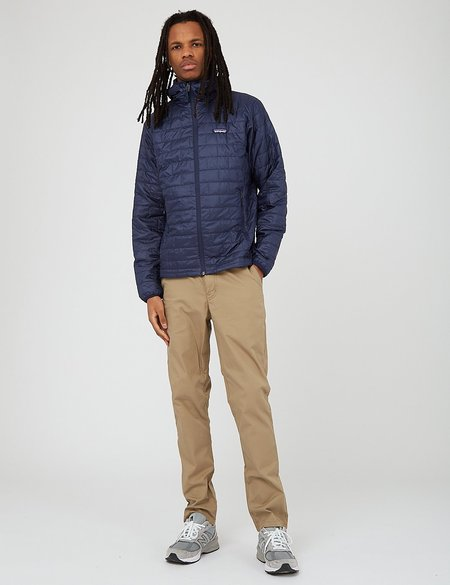 Patagonia Nano Puff Classic Hoody Jacket - Navy Blue