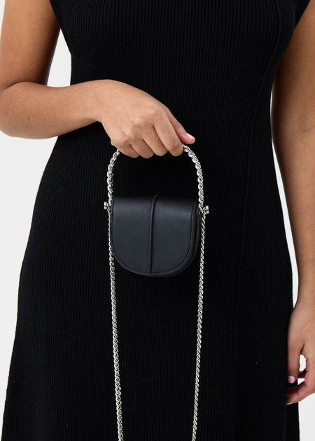 KARA Infinity Case Mini Bag - Black